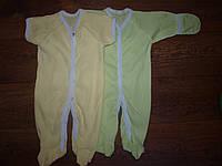 Человечек для новорожденных короткий рукав