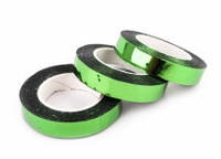 Лента полипропиленовая на клеевой основе, зеленые