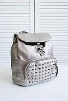 Женский городской рюкзак бронзового цвета, фото 1