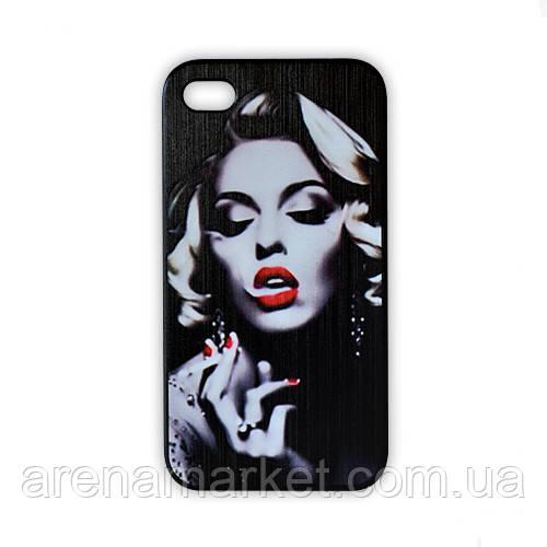 Чохол для iPhone 4/4S Мерилін Монро