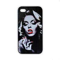 Чехол для iPhone 4/4S Мэрилин Монро