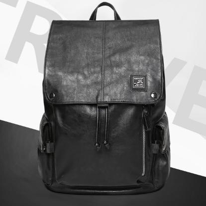 Мужской кожаный рюкзак. Модель 61378