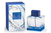 Мужская туалетная вода Splash Blue Seduction for Men Antonio Banderas (свежий, яркий, мятный аромат)
