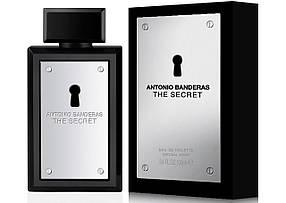 Мужская туалетная вода Antonio Banderas The Secret (пряный восточный аромат)