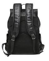 Мужской кожаный рюкзак. Модель 61378, фото 4