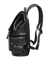 Мужской кожаный рюкзак. Модель 61378, фото 3