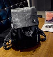 Мужской кожаный рюкзак. Модель 61378, фото 6