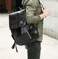 Мужской кожаный рюкзак. Модель 61378, фото 9