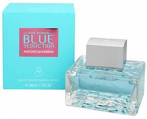Женская туалетная вода Antonio Banderas Blue Seduction (нежный, хрустальный аромат) | Реплика