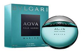 Мужская туалетная вода Bvlgari Aqua Pour Homme Marine (освежающий  морской аромат) | Реплика