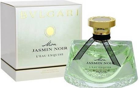 Женская парфюмированная вода Bvlgari Mon Jasmin Noir Eau Exquise (Мон Жасмин Лью Экскьюз)  | Реплика, фото 2
