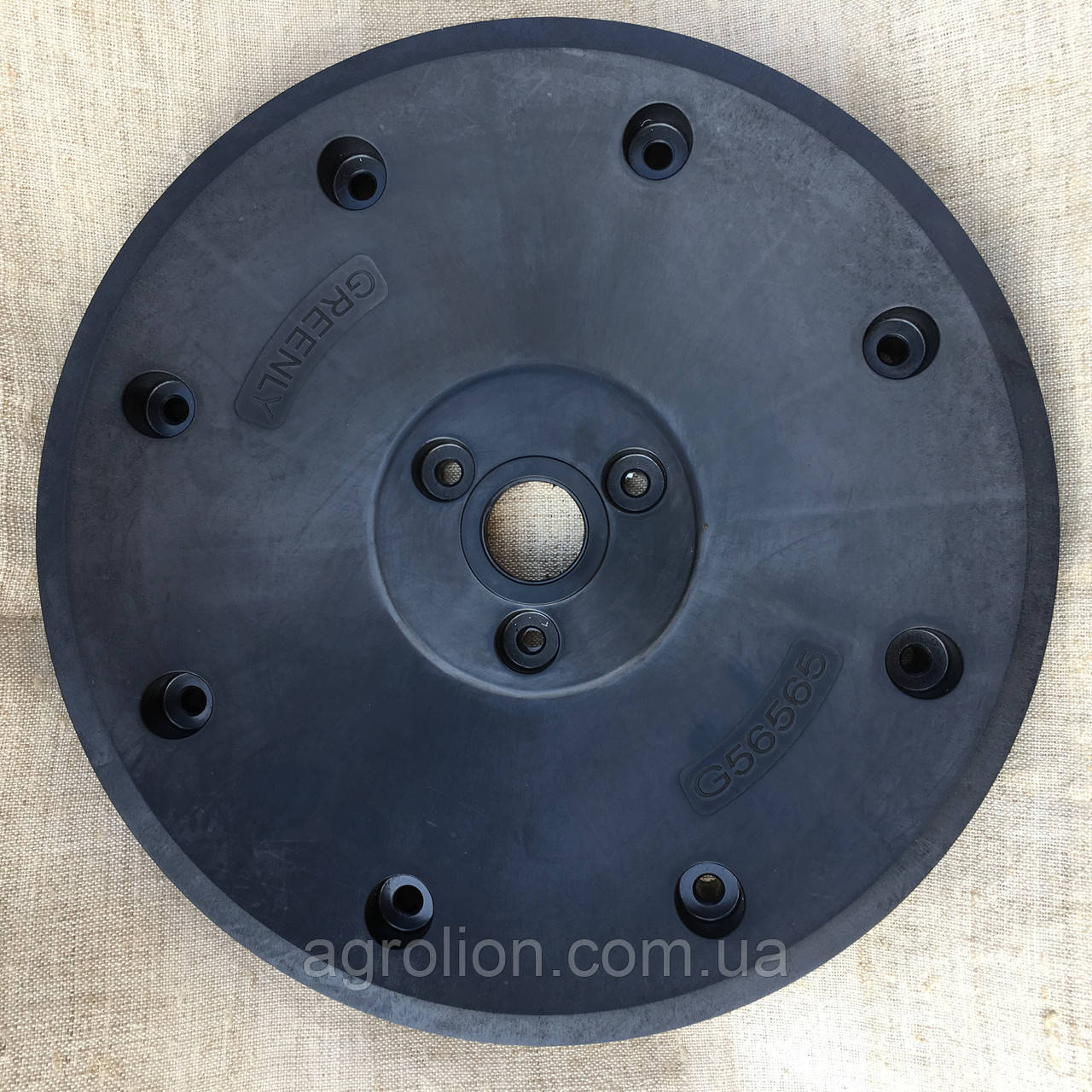 "Напівдиск колеса опорного 4,5"" x 16""  A56565 диск  пластмас"