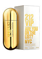 Женская парфюмированная вода Carolina Herrera 212 VIP  (гурманский восточный аромат)