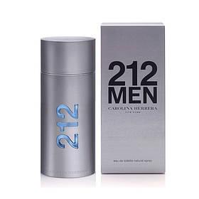 Мужская туалетная вода 212 MEN Carolina Herrera (свежий элегантный аромат)  | Реплика