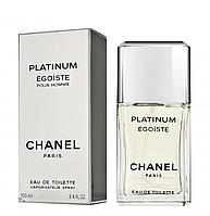 Мужская туалетная вода Chanel Egoiste Platinum (изысканный древесно-мускусный аромат)