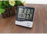 Домашняя мини метеостанция htc-1, измеряет температуру и влажность в помещении + дата/время