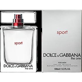 Мужская туалетная вода Dolce & Gabbana The One Sport Men (бодрящий, динамичный аромат) | Реплика