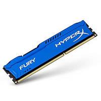 МОДУЛЬ ПАМЯТИ ДЛЯ КОМПЬЮТЕРА DDR3 4GB 1600 MHZ HYPERX FURY BLU KINGSTON (HX316C10F/4)