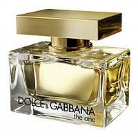 Женская парфюмированная вода Dolce&Gabbana The One (роскошный, неповторимый аромат)