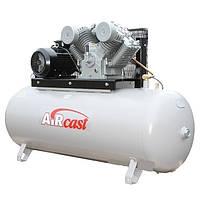 Компрессор поршневой с горизонтальным ресивером Aircast СБ4/Ф-500.LT 100 (Беларусь)