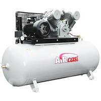 Компрессор поршневой с горизонтальным ресивером повышенного давления Aircast СБ4/Ф-500.LT 100 /16 (Беларусь)