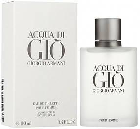 Мужская туалетная вода Giorgio Armani Acqua di Gio (свежий фужерно-водный аромат) | Реплика