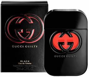 Женская туалетная вода Gucci Guilty Black (глубокий восточно-цветочный аромат) | Реплика