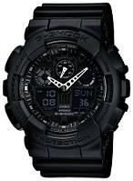 Часы CASIO G-Shock GA 100 AAA качество черные, фото 1