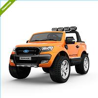 Детский двухместный электромобиль Ford M 3573EBLR-7 оранжевый  ***