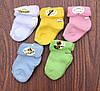 Носочки для младенцев(махра) однотонные