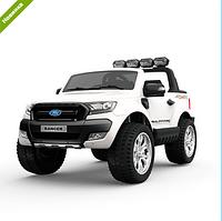 Детский двухместный электромобиль Ford M 3573EBLR-1 белый  ***