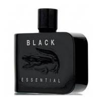 Мужская туалетная вода Lacoste Black Essential (свежий древесный аромат)
