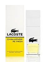 Мужская туалетная вода Challenge Re/Fresh Lacoste (дорогой, яркий аромат)
