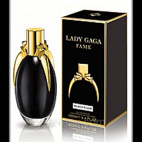 Женская парфюмированная вода Lady Gaga Fame Black Fluid (таинственный, чарующий очень нежный аромат)