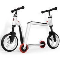 Scoot and ride Беговел+самокат 2 в 1 Push-bike цвет: white