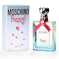 Женская туалетная вода Moschino Funny (игривый цветочно-фруктовый аромат)