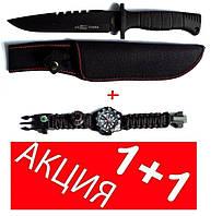 Акция Нож  тактический USA  + Часы для выживания