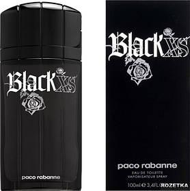 Мужская туалетная вода Black XS Paco Rabanne (противоречивый несдержанный аромат)   Реплика