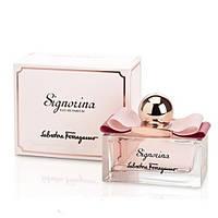 Женская парфюмированная вода Signorina Salvatore Ferragamo (нежный, изысканный цветочно-фруктовый аромат)