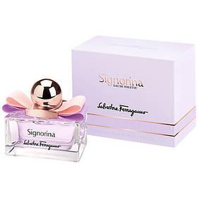 Женская туалетная вода Signorina Salvatore Ferragamo (дерзкий цветочно-фруктовый аромат для молодых девушек)