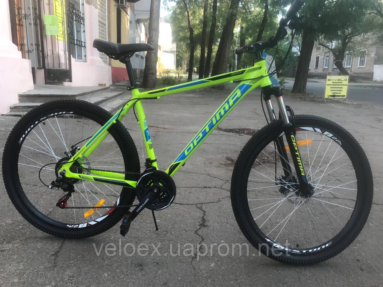 "Велосипед Optimabikes GRAVITY DD 27.5"" 2017"