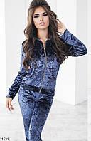 Женский велюровый костюм 31528 КТ-1461