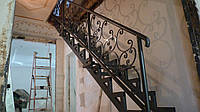 Лестница из металла ( 10 фото)