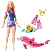Набор Барби Подводное плавание, Магия дельфинов, Barbie, Mattel
