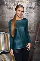 Женская зеленая блуза Рейна Arizzo 44-52  размеры