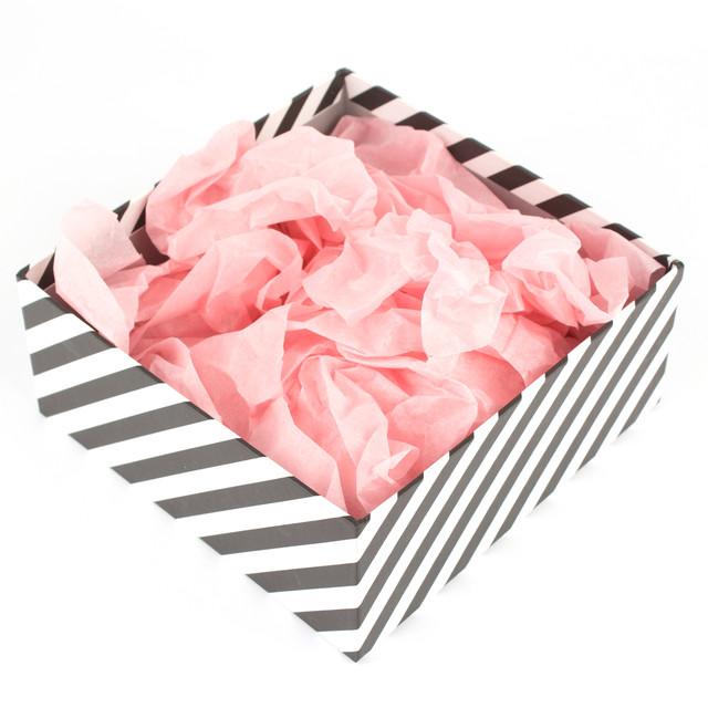 Папиросная бумага тишью розовая 50х70 см