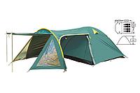 Палатка 4-х местная с тентом и тамбуром Zelart FRT-207-4