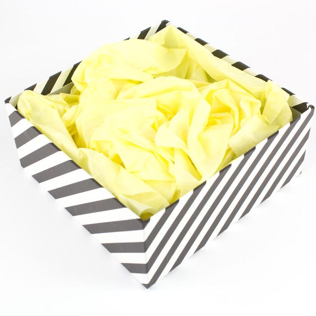 Папиросная бумага тишью желтая 50х70 см