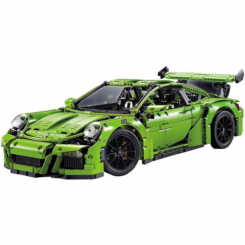"""Конструктор Decool 3368 С (реплика Lego Technic 42056) """"Porsche 911 GT3 RS"""" 2728 дет"""