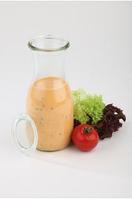 Бутылка стеклянная с крышкой 500мл, Н190мм, D60мм APS 82308